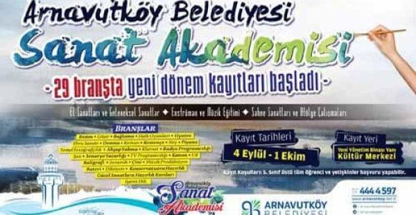 Arnavutköy Belediyesi Ücretsiz Kurslar