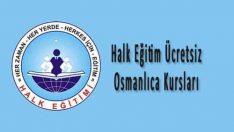 Halk Eğitim Ücretsiz Osmanlıca Kursları