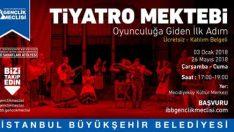 İBB Gençlik Meclisi 2018 Tiyatro Mektebi Kursu
