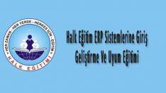 Halk Eğitim ERP Sistemlerine Giriş