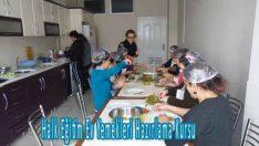 Halk Eğitim Ev Yemekleri Hazırlama Kursu