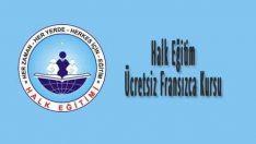 Halk Eğitim Ücretsiz Fransızca Kursu