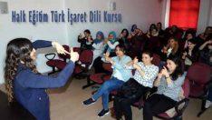Halk Eğitim Türk İşaret Dili Kursu