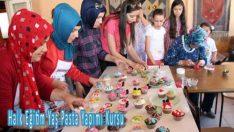 Halk Eğitim Yaş Pasta Yapımı Kursu